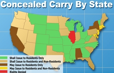 Concealed Carry By State