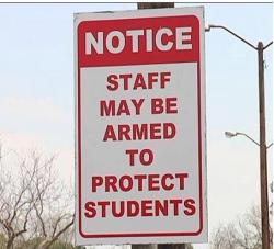 Image result for armed school staff