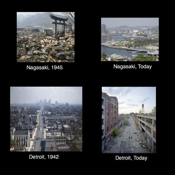 Nagasaki-Detroit