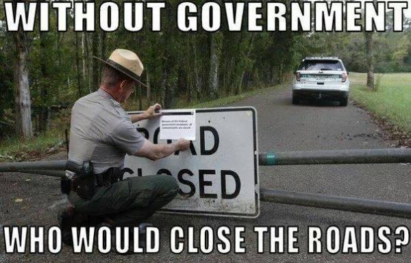 close the roads