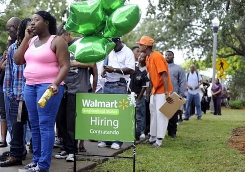 Walmart applicants