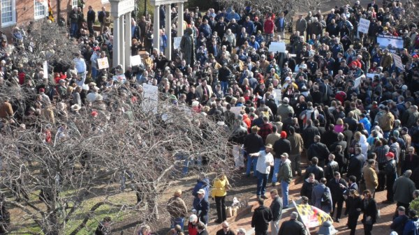 MARYLAND GUN RIGHTS RALLY