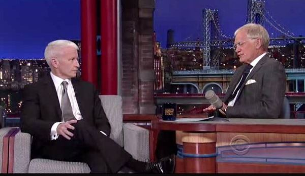 Letterman and Cooper