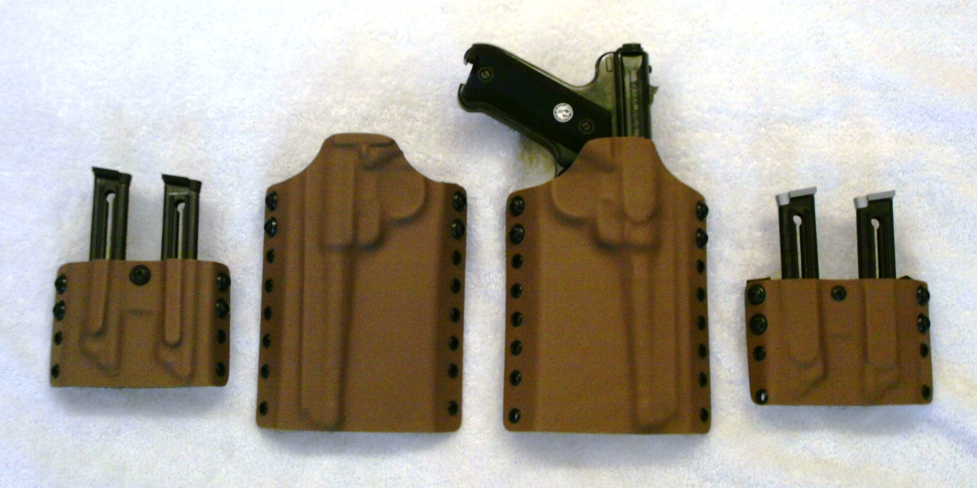 New Holsters for the Ruger Mk II | SlowFacts