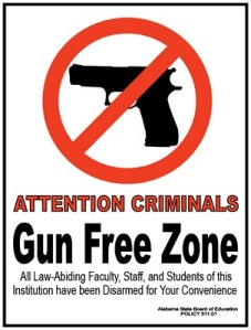 GUN+FREE+ZONE