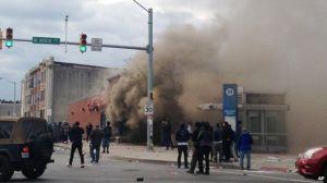 baltimore burning