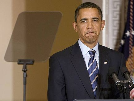 Obama teleprompter