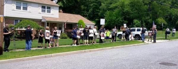 Protest Sweeney 6 14