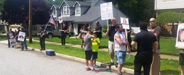 Sweeney protest 6 14 b