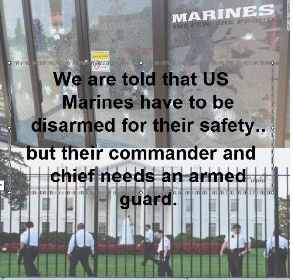 Who disarmed us