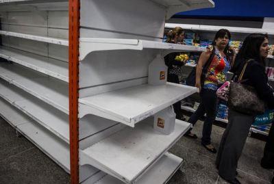 Bare shelves in VE