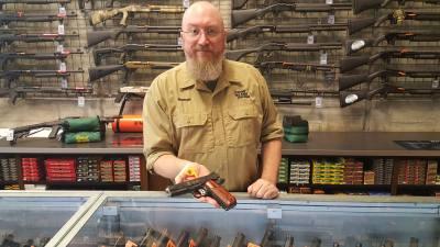 Used gun salesman