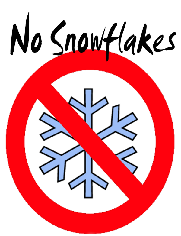 No Snowflakes
