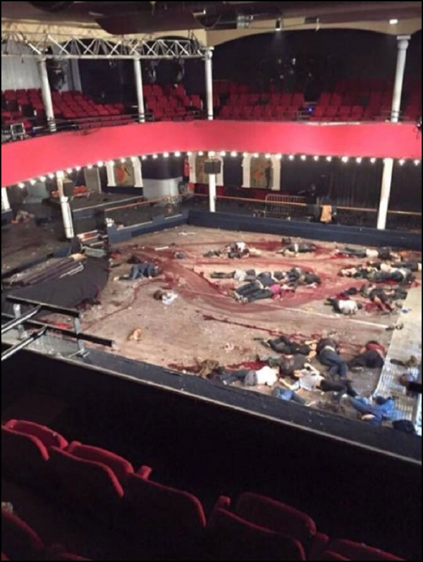 bataclan bodies after muslim attack