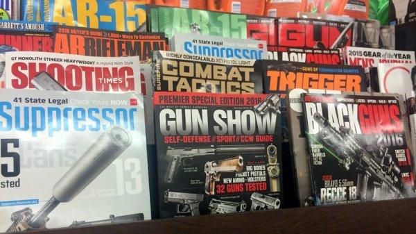 gun magazine covers