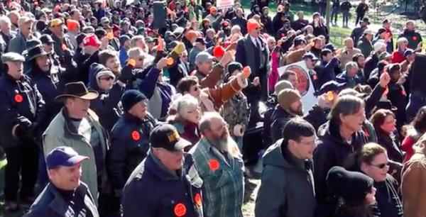 Virginia Gun Owners Rally in Richmond