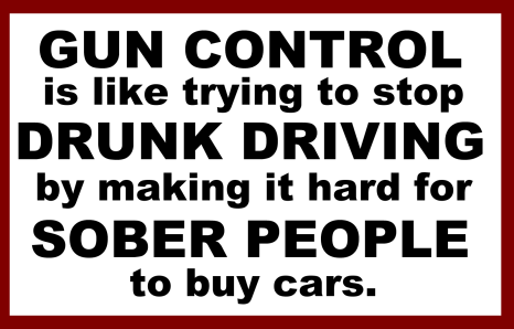 gun control drunk driving