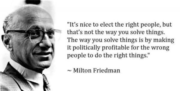 Milton do the right thing