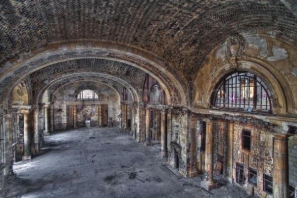 Michigan Central Train Station in Detroit